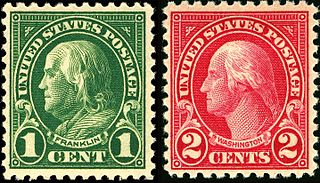 US Regular Issues of 1922–1931