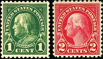 US Regular Issues of 1922–31 - Image: Wash Frank 1922