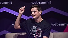 Garrix in a talk session on the MusicNotes Stage during the third day of the 2017 Web Summit technology conference at Altice Arena in Lisbon, Portugal, on 9 November 2017