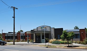Shire of Loddon - Loddon Shire Council offices at Wedderburn
