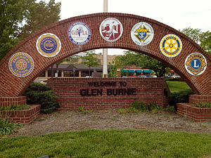 Glen Burnie, Maryland - Image: Welcome to Glen Burnie 2