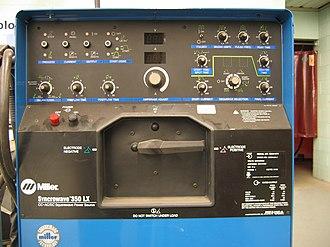 Gas tungsten arc welding - GTAW power supply