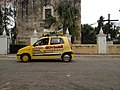 Well this guy was annoying - Speaker car in Valladolid Yucatan.jpg
