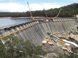 Wellington Dam Hydro Power Station Dam in Collie, Western Australia