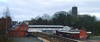 Wellington, Shropshire - Wellington railway station