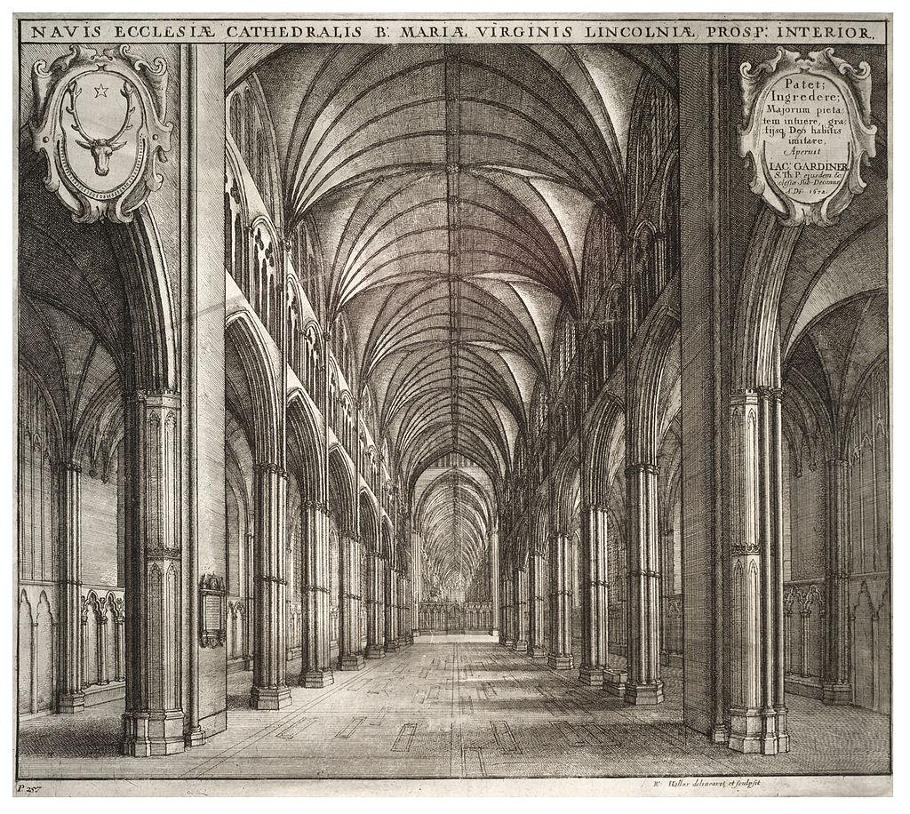 Wenceslas Hollar - Lincoln Cathedral, interior.jpg