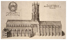 Illustration of Blackfriars' Hall