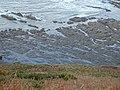 Westward Ho^ rocks from clifftop - geograph.org.uk - 130801.jpg