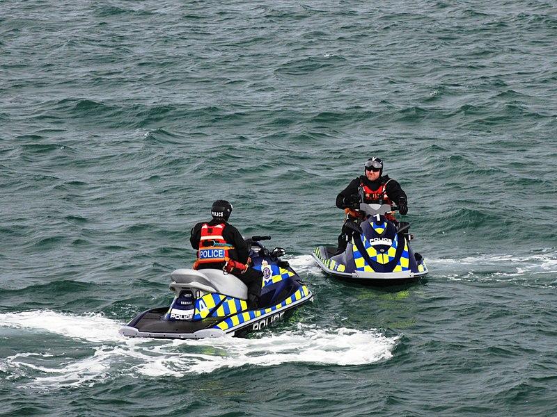 File:Weymouth Olympics police jet skis.jpg