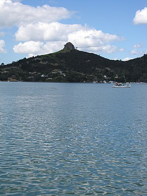 Whangaroa Harbour - Whangaroa and St Paul's Rock