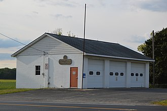 Whetstone Township, Crawford County, Ohio - Fire station in New Winchester