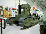 Whippet tank Base Borden Military Museum 2.jpg