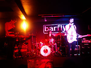 At the Barfly in Brighton, 21/02/08.