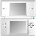 White Nintendo DS icon.png