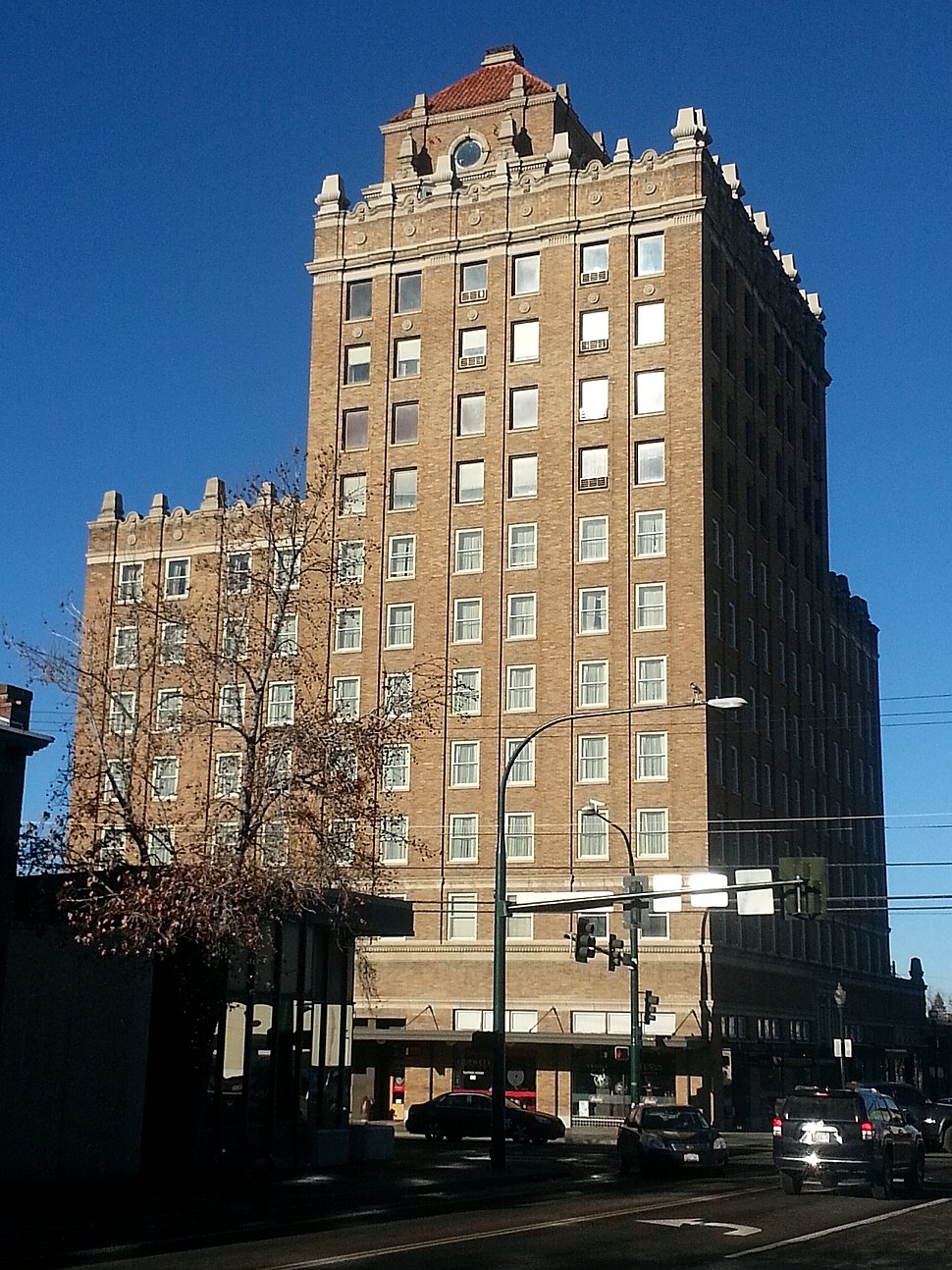 Whitman hotel downtown ww