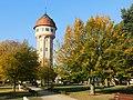 Wieża Ciśnień z parku, Góra.jpg