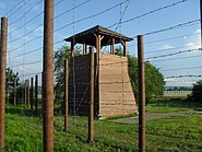 Wieża wartownicza (obóz Pustków)