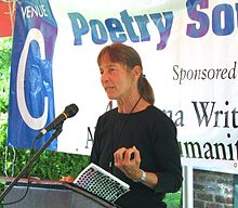 Barbara Wiedemann reads at the 2009 Montgomery Bookfest