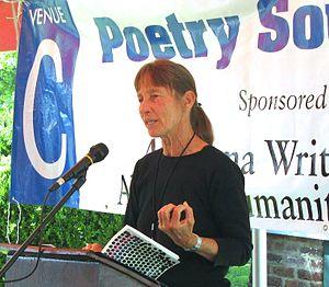 English: Barbara Wiedemann reading from Half-L...