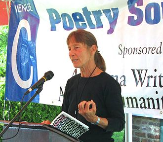 Poetry reading - Barbara Wiedemann reading aloud from Half-Life of Love at BookFest 2009, Montgomery, AL