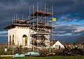 Wiederaufbau Teepavillon des Weingutes Bürklin-Wolf.jpg