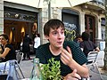 Wiki Takes Barcelona - post meeting lunch (2).JPG