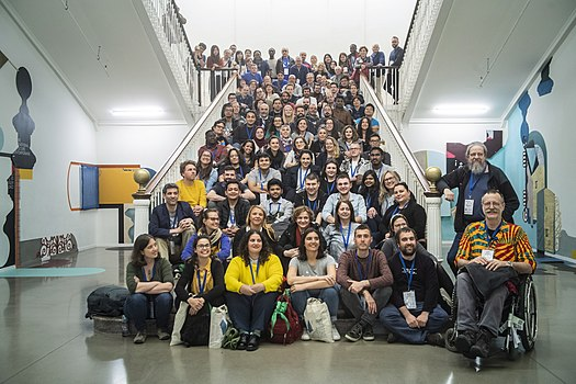 Wikimedia+Education Conference 2019 group photo 02.jpg