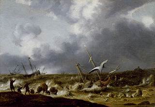Shipwreck in a Storm