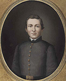 Behan as a Confederate soldier