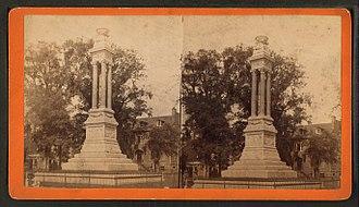 William Washington Gordon - Image: William W. Gordon Monument, by Launey & Goebel