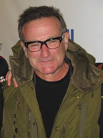 "American comedian Robin Williams at ""Stan..."