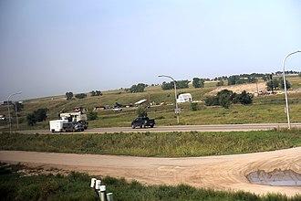 Williston, North Dakota - US 2 and US 85 at Williston