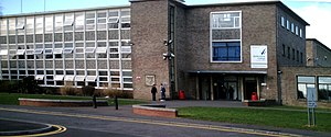 Wiltshire College - Main Building, Wiltshire College Trowbridge