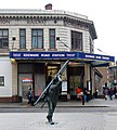 Window cleaner statue and Edgware Road station, London W1 - geograph.org.uk - 1610220.jpg