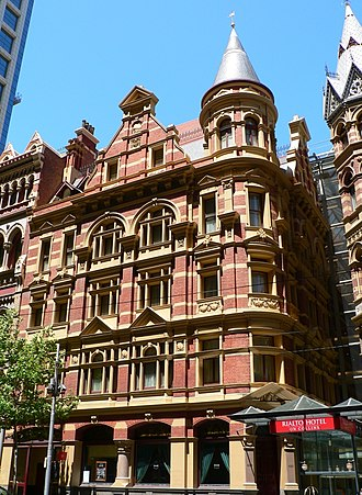 Charles D'Ebro - Image: Winfield building collins street melbourne