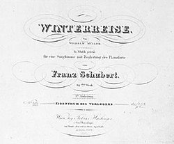 Image illustrative de l'article Winterreise