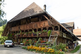 Lauperswil - Farm house in Wittenbach