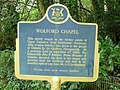 Wolford Chapel plaque outside 7902613732.jpg
