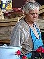 Woman Vendor in Central Market - Poltava - Ukraine - 02 (43882956382).jpg