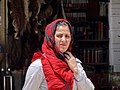 Woman in Russian Bazaar - Jolfa - Iranian Azerbaijan - Iran (7421488862).jpg