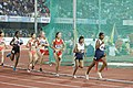 Women's 10000m L.Suriya And Sanjivani Jadhav of India In Action.jpg