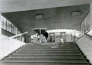 Blackeberg metro station - Inside the station, date unknown.