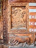 Wood Carvings Lion Ride Bekhli Kullu Himachal Dec17 D72 4611.jpg