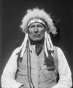 Wooden Leg Cheyenne Warior in 1913