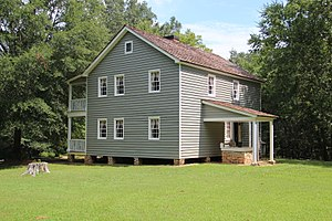 Samuel Worcester - Samuel Worcester's home in New Echota