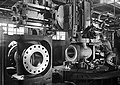 Worker machining hole flange, Cameron Iron Works, Houston, TX.jpg