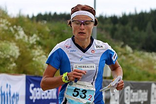 Merja Rantanen Finnish orienteering competitor