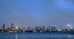 Worli - Worli Skyline from Bandra