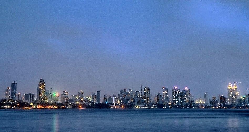 Worli Skyline from Bandra