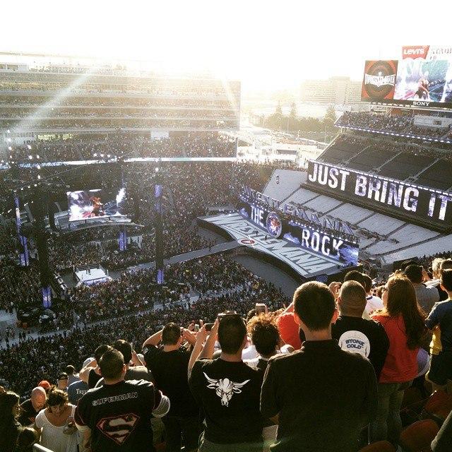WrestleMania 31 stage